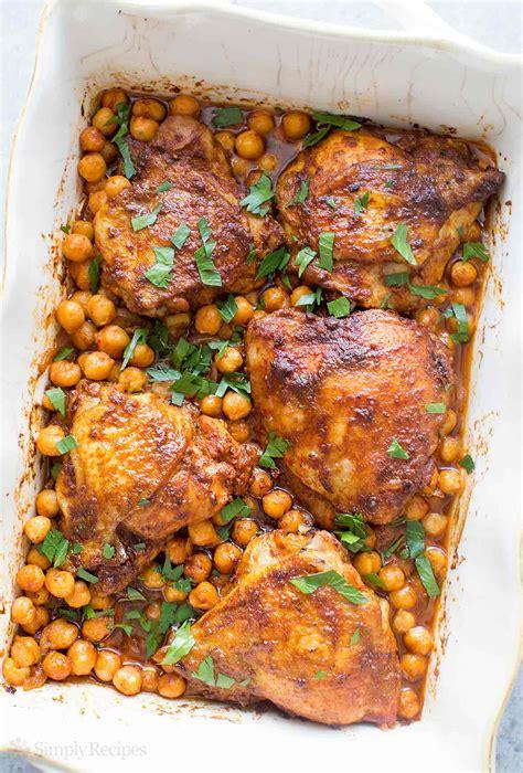 paprika chicken with chickpeas recipe simplyrecipes com