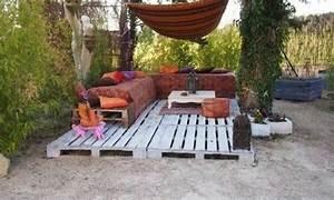 Salon De Jardin En Palette Moderne : id es salons de jardin en palette bricolage facile ~ Melissatoandfro.com Idées de Décoration