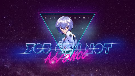 80 S Anime Wallpaper - 80 s style rei ayanami wallpaper by jesucristoasterisco on