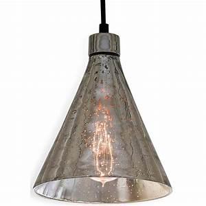 Regina andrew lighting antique mercury glass beaker