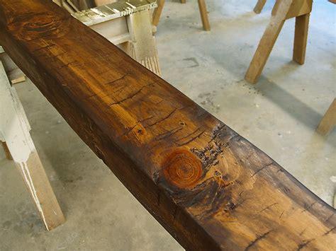 cherry kitchen island cart hollow beam after glazing wunderwoods