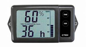 Ctek Digital Battery Monitor Display Suit 12v Dc Ds250s