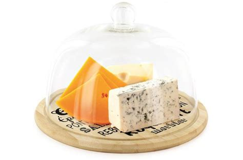 cloche de cuisine cloche plateau de presentation 30cm camembert