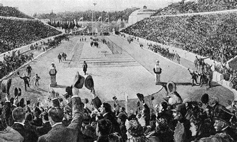 en 1896 le premier marathon des jeux olympiques modernes
