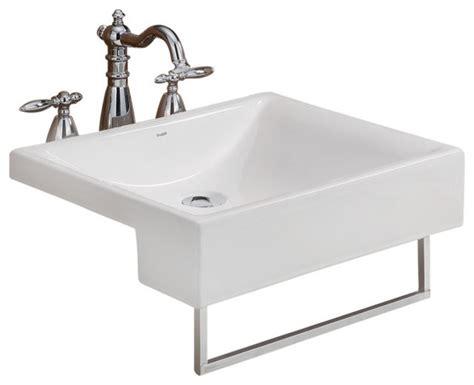 Pacific Semi-cassa Sink, .x., Semi-recessed