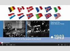 NATO The history of NATO Video timeline, 25Feb2014