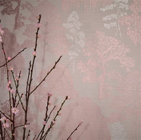 meili  arthouse rose gold wallpaper wallpaper direct