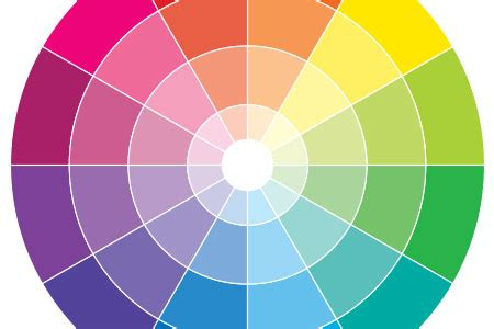 color how to find four equally contrasting colours that are appealing to the eye graphic