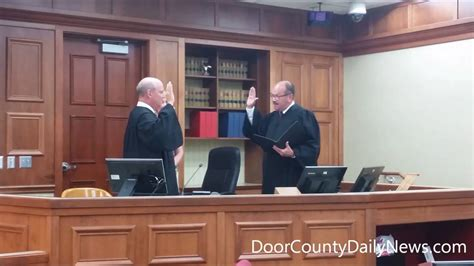 door county circuit court weber sworn in as door county circuit court judge
