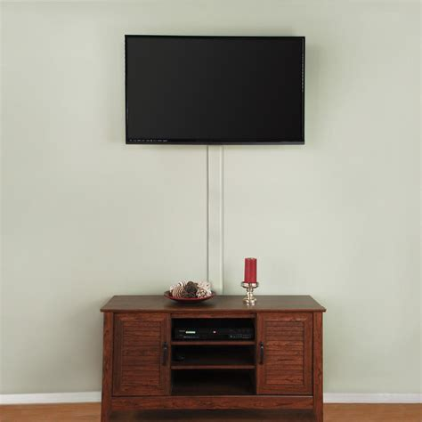 wall l with cord flat screen tv cord cover a31 kw the home depot