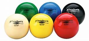 Thera-Band® Weighted Ball Set buy at Sport-Thieme.co.uk Balls and Bands