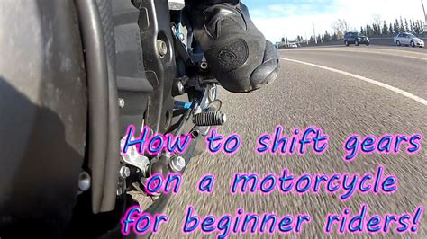How To Shift Gears On A Motorcycle . Multiple Angle