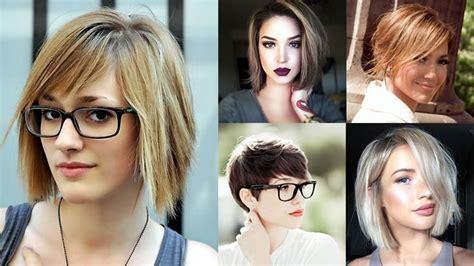 modern short haircuts  office women