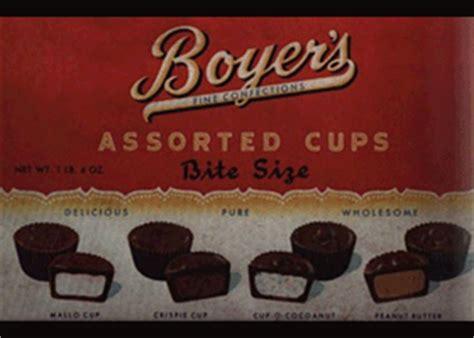 Boyer Candy Company History  Mallo Cup  BoyerCandies.com