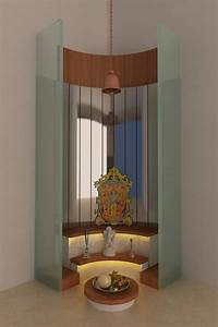 7 beautiful pooja room designs With interior decoration pooja room