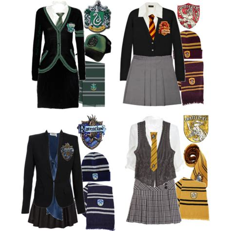 U0026quot;Hogwarts Uniformsu0026quot; by ser-rena01 on Polyvore | Dream Closet | Pinterest | Hogwarts uniform ...