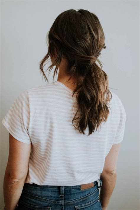 easy  ponytail hairstyle   occassion