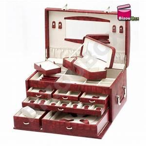 Coffret A Bijoux : ca man 357 801 davidt 39 s grand coffret bijoux croco ~ Teatrodelosmanantiales.com Idées de Décoration