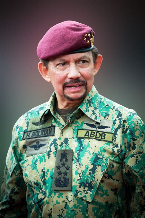 sultan hassanal mindef his majesty