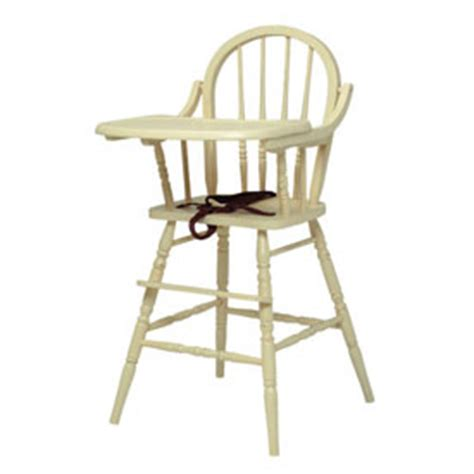 classic wooden high chair by newport cottages