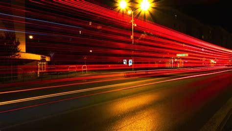 kostenlose bild modern bewegung nacht strasse strasse