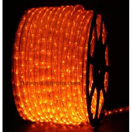 orange rope lights orange led rope lights 148ft rlwl 148 or direct lighting