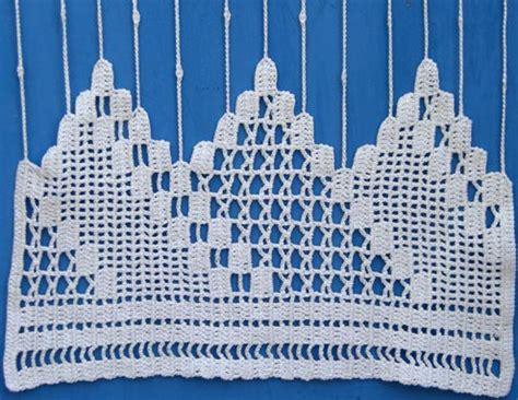 rideaux en crochet patron mod 232 les crochet rideaux