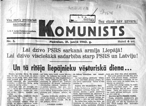 Latvijas okupācija Staļina izpildījumā pēc Ļeņina padoma ...