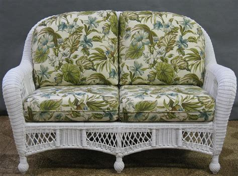 Outdoor Wicker Settee by St Lucia Collection Jaetees Wicker Wicker Furniture
