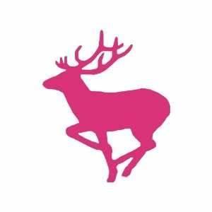 Amazoncom Camo Heart R Deer Pink Vinyl Car Bumper Sticker ...