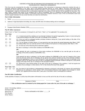 1099 S Certification Form by Certification For No Information Titlemaxllc Fill