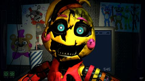 Scrap Toy Chica Jumpscare [model/edit]