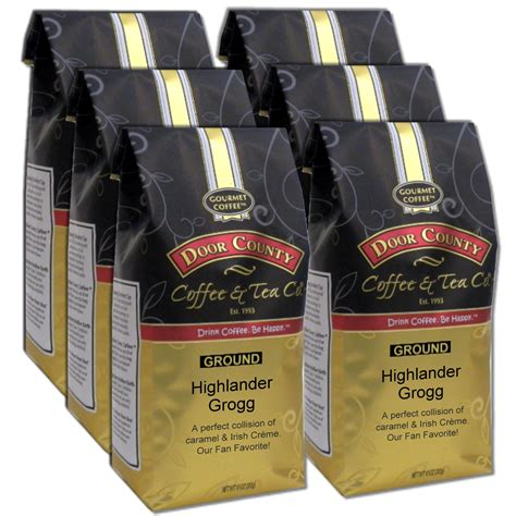 Promo code was added on apr 24, 2021. Door County Coffee Highlander Grogg Flavored Ground Coffee Value Pack, 6 Pack, 10oz Bags ...