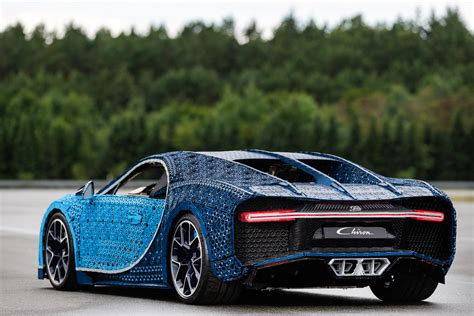 This lego technic bugatti chiron is an engineering feat. This Life-size LEGO Bugatti Chiron Looks Incredible, and Really Can Drive
