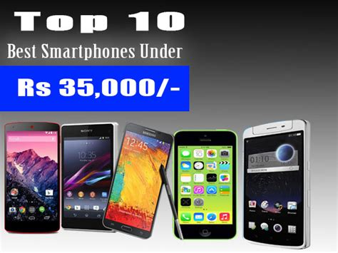 Top 10 Best Highend Smartphones Between Rs 25,000 And Rs