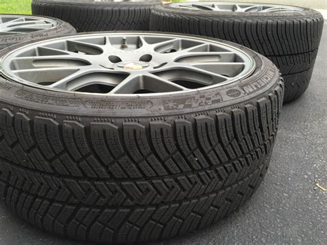 michelin pilot alpin pa4 991 c4s winter tire and wheel set michelin pilot alpin pa4