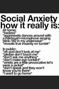 People with Social Anxiety Quotes