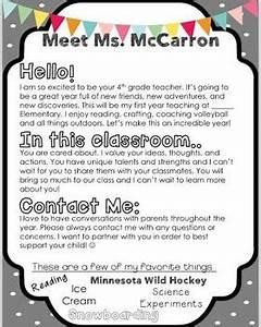 best 25 teacher introduction letter ideas on pinterest letter to parents preschool welcome