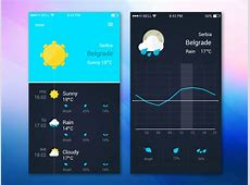 Freebie Weather App Ui Design by GraphBerry Dribbble