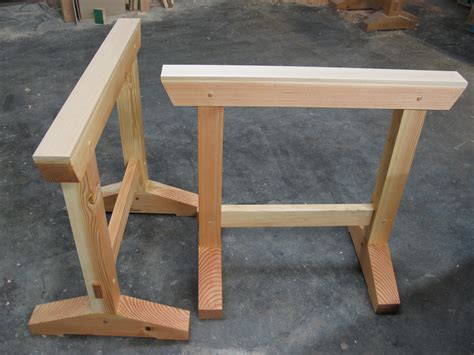 build  shop horses  simple joinery