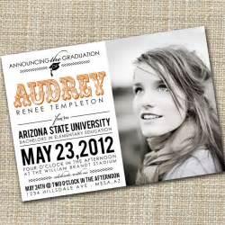 College Graduation Announcements Invitations