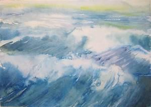 peindre l39eau 2 l39ocre bleu With comment peindre l eau