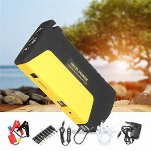 12v 50800mah Portable Car Jump Starter Pack Battery Power