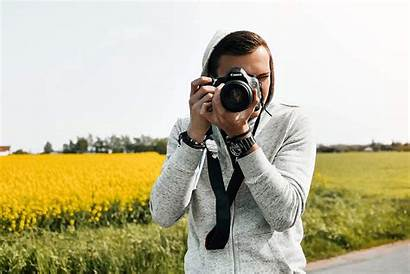 Photographer Taking Young Action Text Picjumbo