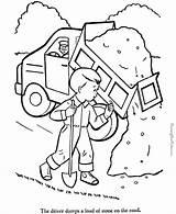 Coloring Truck Dump Printable Trucks Construction Garbage Finest Tow Tractor Boys Printing Animation Comics Unique Excavator Popular Clip Coloringhome sketch template