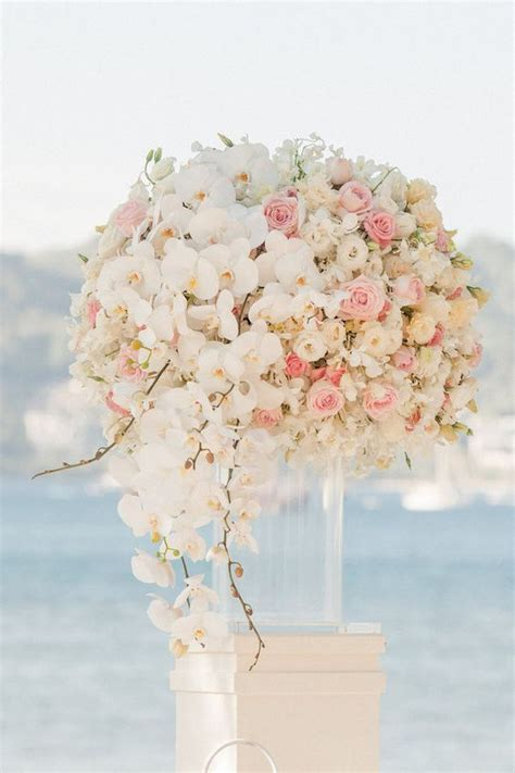 White Orchid Wedding Decor Deer Pearl Flowers
