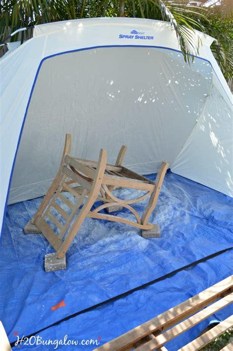 restore outdoor teak furniture tutorial hobungalow