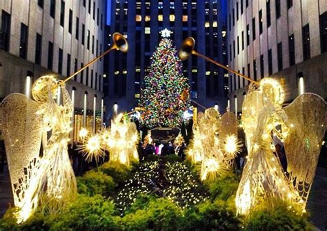 2013 rockefeller center christmas tree lights up the night with 45 000 solar powered leds