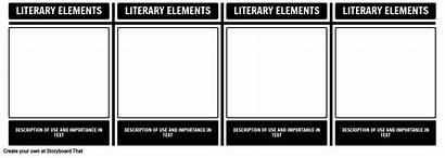 Literary Elements Examples Chart Brought Africa Being