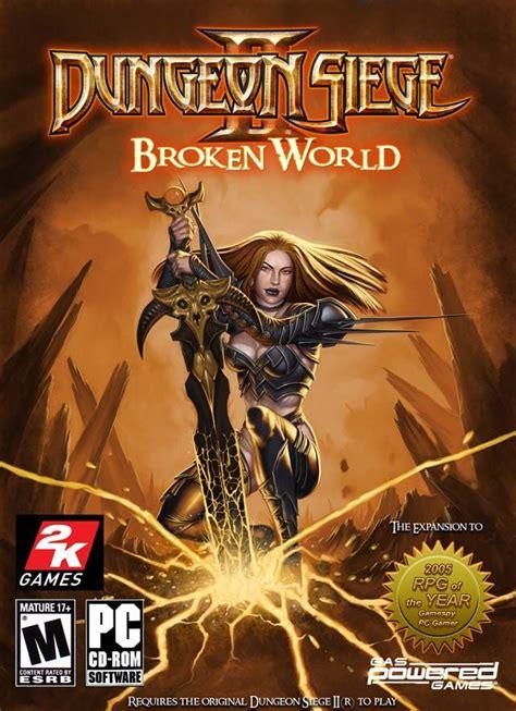 microsoft dungeon siege dungeon siege 2 broken free
